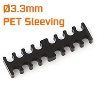 Ø3.3mm PET Sleeving Cable Combs