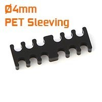 Ø4mm PET Sleeving Cable Combs
